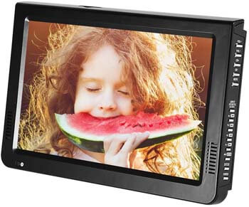 8. Eboxer 10 inch Portable TV, ATSC Digital Television 16.9 TFT LED 1080P HDMI Video Player