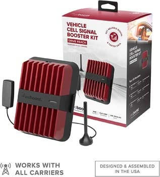 2. weBoost Drive Reach (470154) Cell Phone Signal Booster