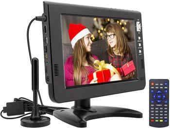5. GJY 10.1 inch Portable TV Digital Multimedia ATSC+NTSC