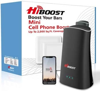8. Hiboost Cell Phone Signal Booster for Home & Office, Boosts 4G LTE Voice and Data