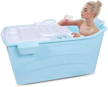 9. GLY Portable Folding Bathtub
