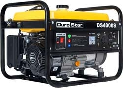 9. DuroStar DS4000S 4000 Watt Portable Recoil Start Gas Fuel Generator