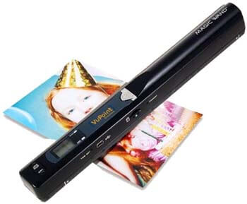 9. VuPoint Solutions Magic Wand Portable Scanner (PDS ST415 WM)