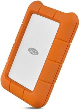 8. LaCie Rugged Thunderbolt USB-C 2TB External Hard Drive Portable HDD