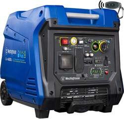 5. Westinghouse iGen4500DF Dual Fuel Portable Inverter Generator