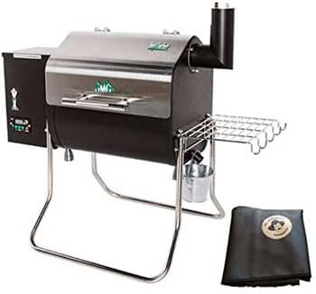 5. GMG 2020 Green Mountain Grill Davy Crockett Grill/Smoker with Cover