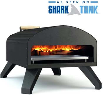 2. Bertello Wood Fire and Gas Outdoor Pizza Oven