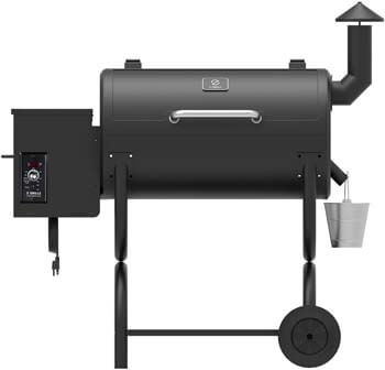 7. Z GRILLS Wood Pellet Grill Holiday 8-in-1 BBQ Smoker