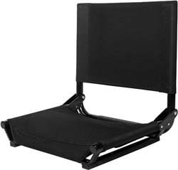 1. Cascade Mountain Tech Portable Folding Stadium Seats for Bleachers with Back Support