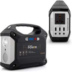 7. SereneLife Portable Generator, 155Wh Power Station