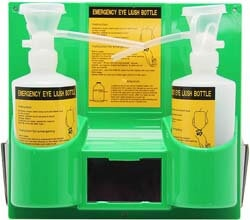 6. CGOLDENWALL Plastic Wall Mounted Emergency Eyewash Station