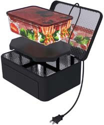 9. Aotto Portable Oven Personal Food Warmer
