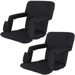 4. Oteymart Set of 2 Portable Stadium Seat