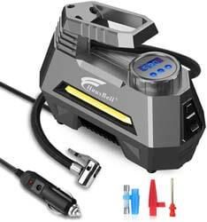 5. HAUSBELL Portable Air Compressor for Car Tires