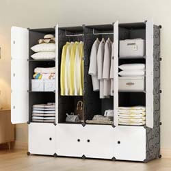 3. KOUSI Portable Wardrobe Closets 14