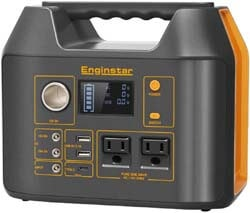 8. Enginstar 300Watt Portable Power Bank with AC Outlet