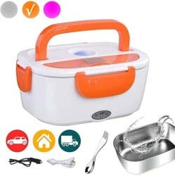 4. WHEN MING Electric Lunch Box Portable Food Warmer