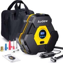9. Audew Portable Air Compressor Tire Inflator