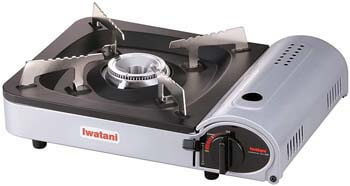 6. Iwatani Corporation of America Iwatani of America ZA-3HP Portable Butane Stove Burner