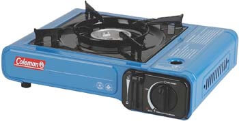 1. Coleman Portable Butane Stove with Carrying Case