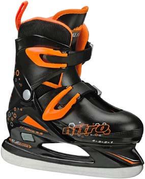 8. Lake Placid Boys Nitro 8.8 Adjustable Ice Skates