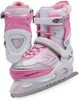 10. Jackson Ultima Softec Vibe Women's/Girls Adjustable Skate