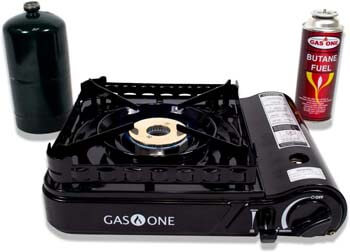 5. Gas ONE GS-3900P New Dual Fuel Propane or Butane Portable Stove