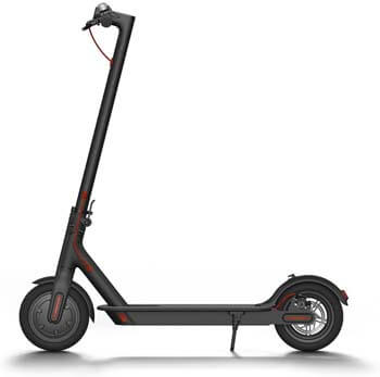 10. Xiaomi Mi Electric Scooter, 18.6 Miles Long-range Battery