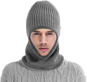 5. Komene Flannel Unisex Beanie hat. The Softest Winter Hat