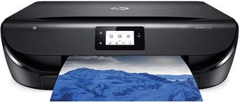 4. HP ENVY 5055 Wireless All-in-One Photo Printer, HP Instant Ink, Works with Alexa (M2U85A)