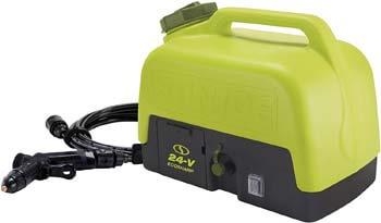 10. Sun Joe WA24C-LTE 24-Volt Amp 5-Gallon Electric Pressure Washer