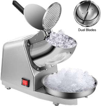 2. VIVOHOME Electric Dual Blades Ice Crusher Shaver Snow Cone Maker