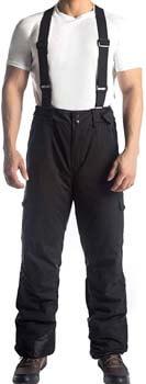 1. Przewalski Men's Snow Ski Bib Pants