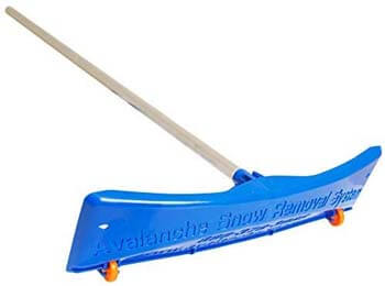 7. Avalanche! Snow Rake Deluxe 20. 24 Inch Wide Traditional Snow Roof Rake