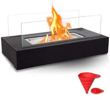 1. BRIAN & DANY Ventless Tabletop Portable Fire Bowl