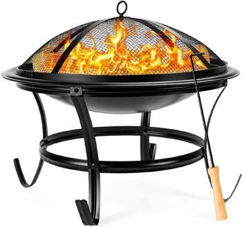 3. Best Choice Products 22-inch Outdoor Patio Steel Fire Pit