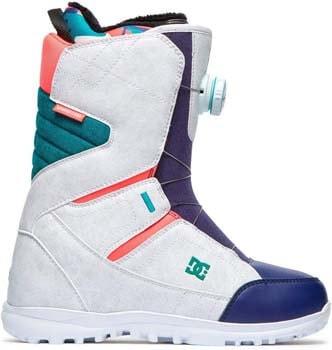 9. DC Search BOA Snowboard Boots Women's Sz 8 White Camo