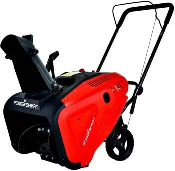 9. PowerSmart Snow Blower, 21-INCH Single Stage Gas Snow Blower