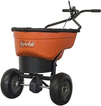 5. Agri-Fab 45-0548 130 lb. Commercial Push Spreader, Orange/Black