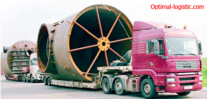 Транспорт для перевозки негабаритных грузов