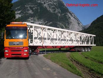 Правила перевозки негабаритных грузов автомобильным транспортом