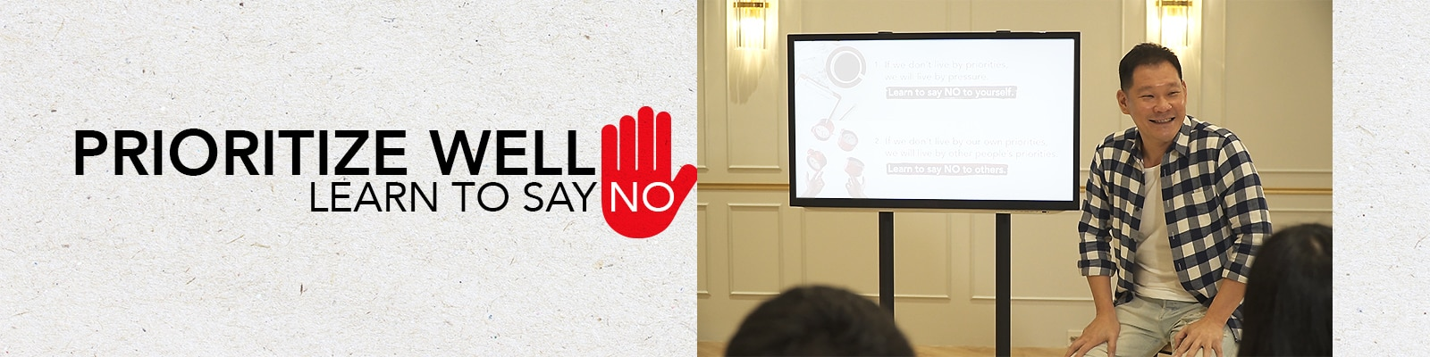 Prioritize Well: Learn to Say No