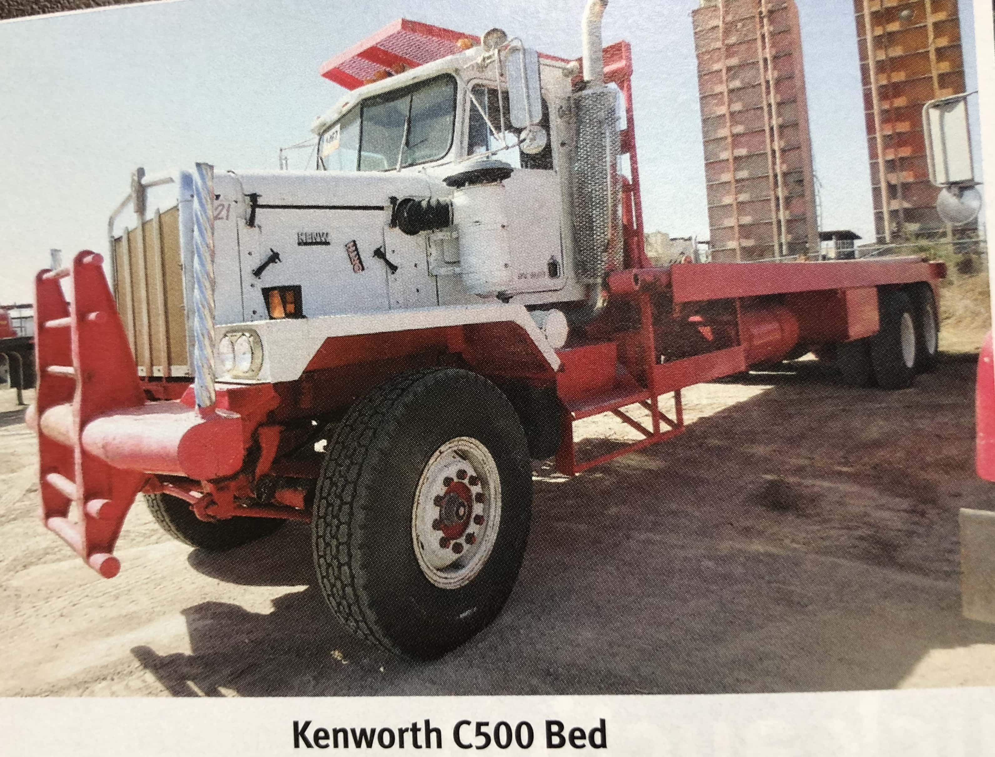 Kenworth C500 Bed