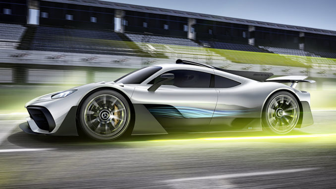 mercedes amg project one hybrid