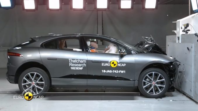 2019 Jaguar I-Pace Crash Test