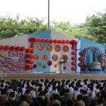 กิจกรรมวันไหว้พระจันทร์และมอบเกียรติบัตรการแข่งขันกล่าวสุนทรพจน์ ภาษาจีน