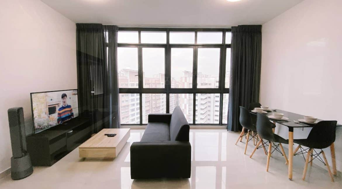 Symphony Suites 2 bedrooms for short term rent - Living:Dining