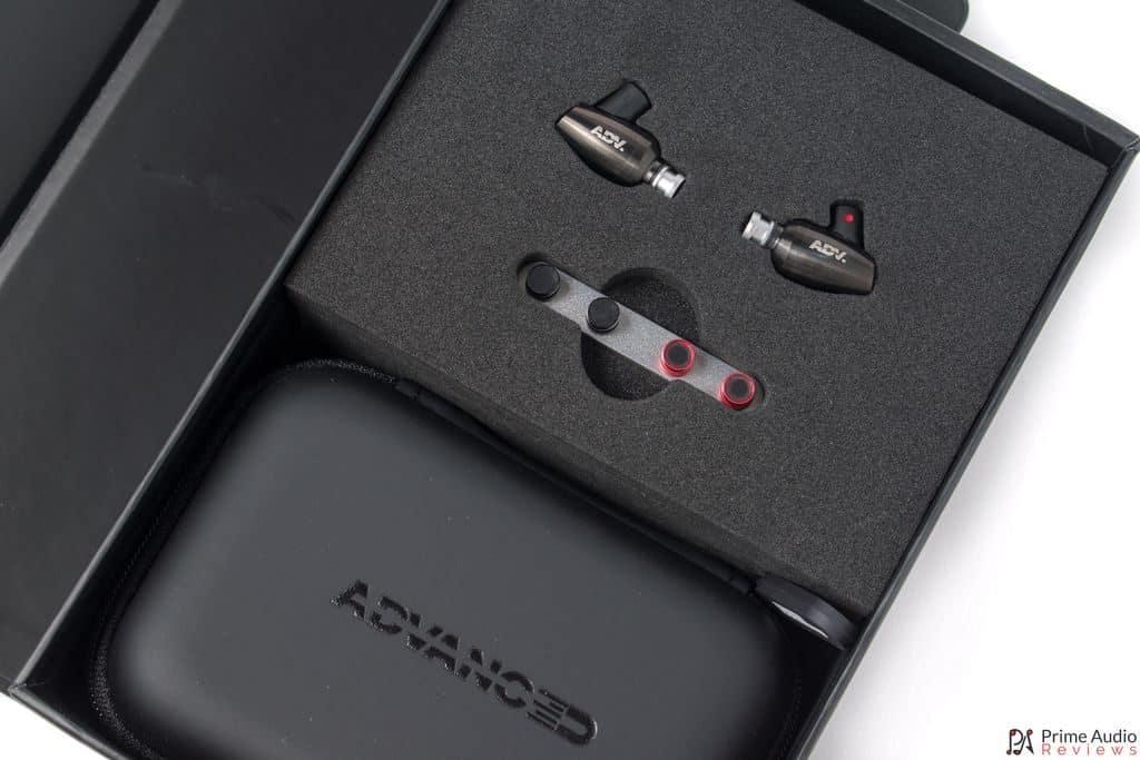 Advanced GT3 Superbass box open