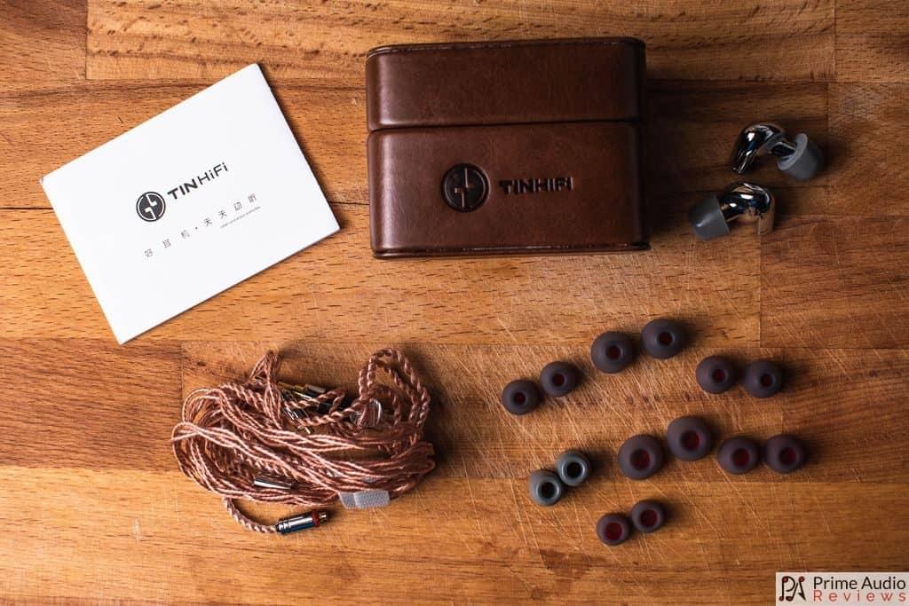 Tin Hifi P1 accessories