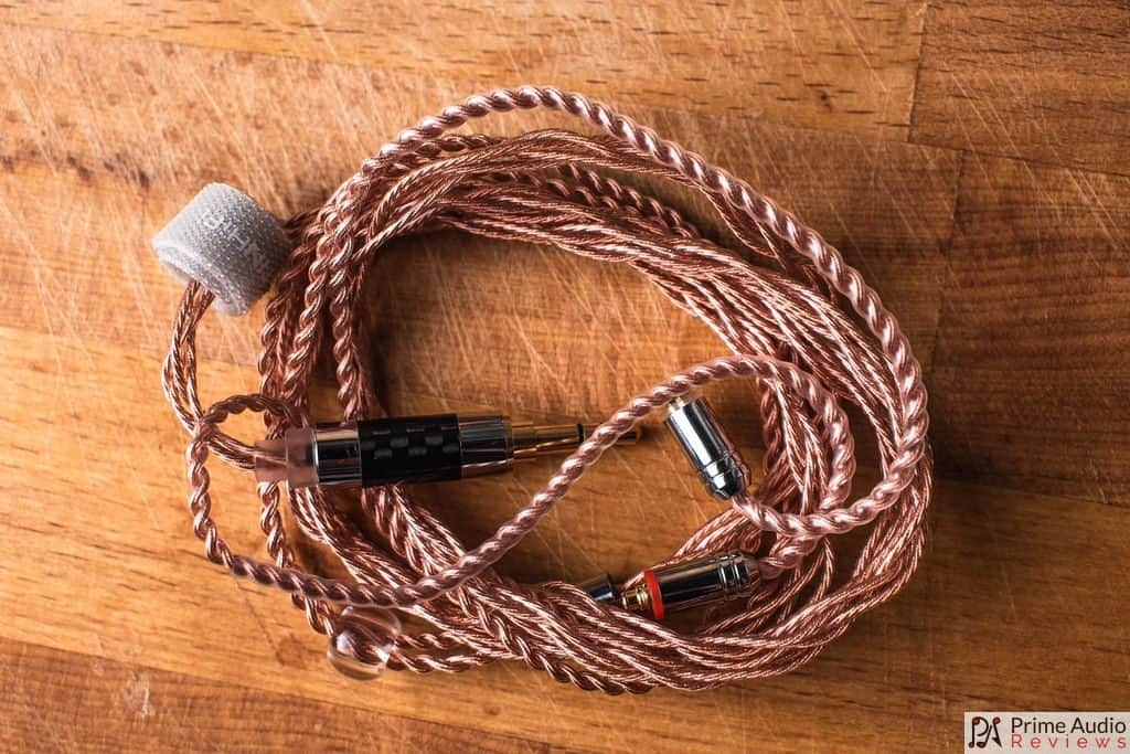 Tin Hifi P1 cable wound up
